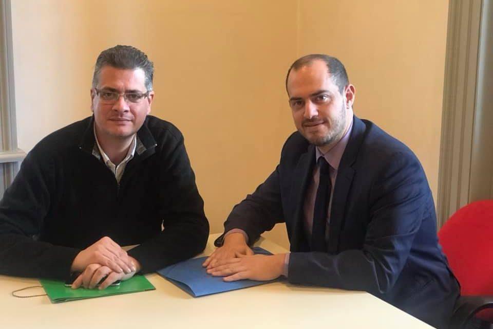 Συνάντηση του Γ. Κώτσηρα με πρόεδρο του «Πράσινου Ταμείου» Στ. Σταθόπουλο