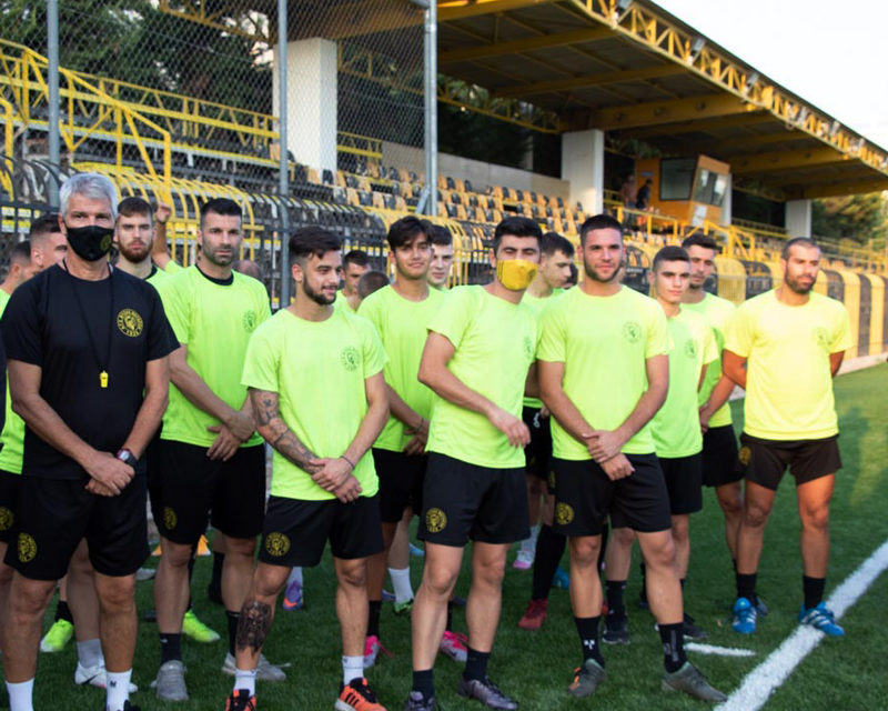 Αγιασμός στον Βύζαντα ενόψει της έναρξης του πρωταθλήματος