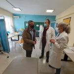 Ο Δήμαρχος Μεγαρέων Γρ. Σταμούλης επισκέφθηκε το Κέντρο Υγείας Μεγάρων