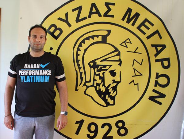 Ο Τάσος Ανδρέου αναλαμβάνει προπονητής τερματοφυλάκων στον Βύζαντα