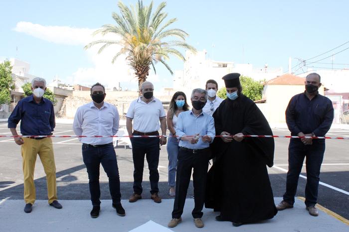 Εγκαινιάστηκε ένας νέος δημοτικός χώρος στάθμευσης στα Μέγαρα…